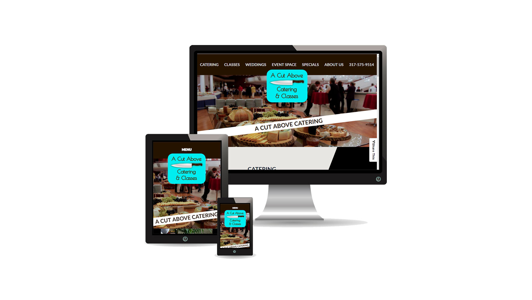Responsive custom website theme from HMG