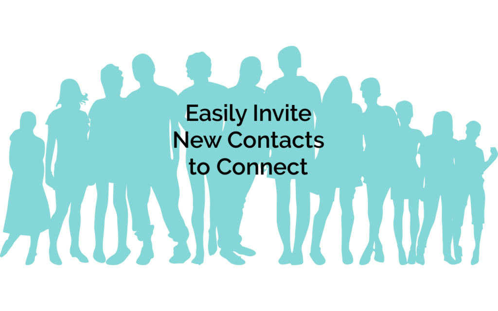 Use automation to easily connect with new contacts, saving you time.