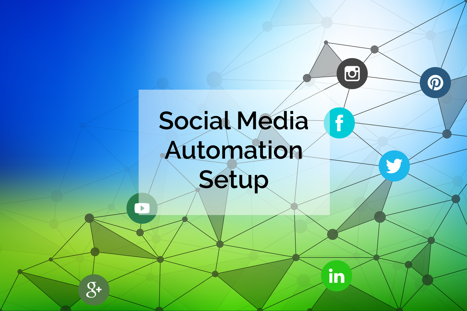 Social Media Automation Setup is included with Smart Site.