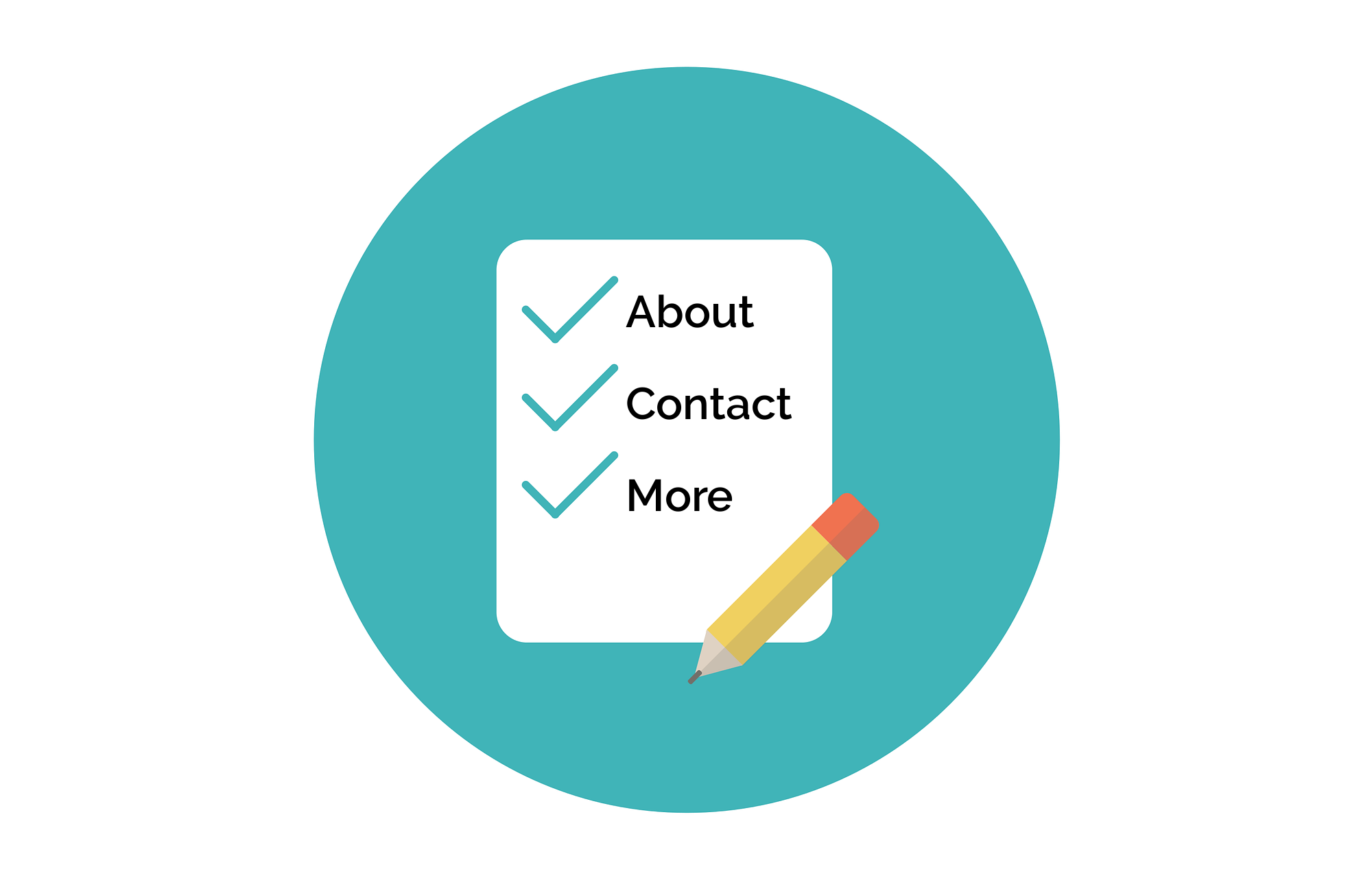 Smart Site setup includes supporting pages, like About and Contact.
