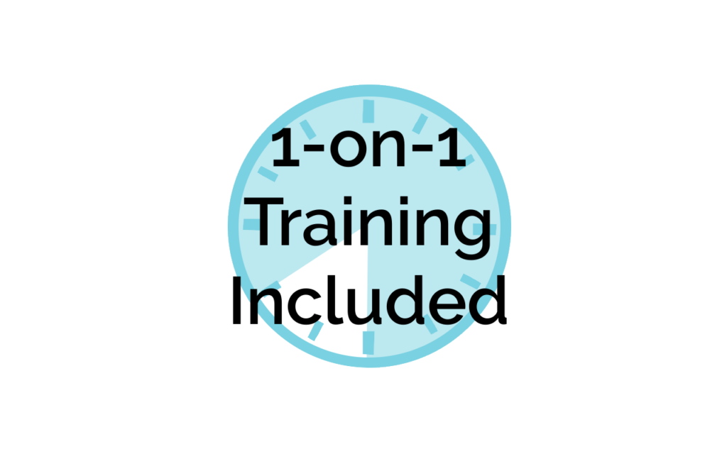 1-on-1 Training is included with Smart Site
